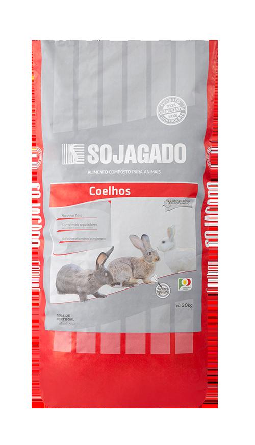 Sojagado Coelhos 30kg
